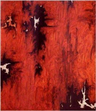 """""""1947-R-No. 1"""" by Clyfford Still"""