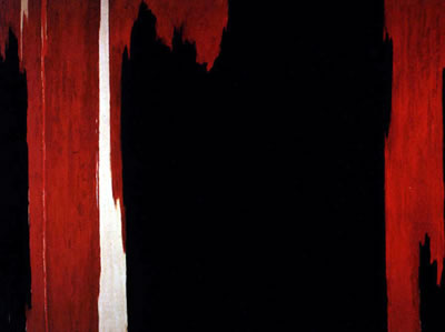 """1954"" by Clyfford Still"