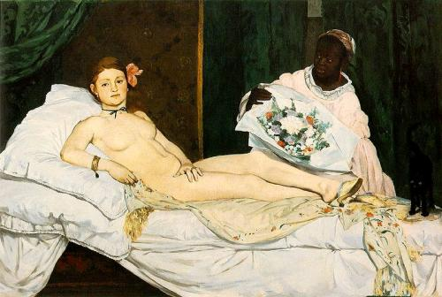 """Olympia"" by Edouard Manet"