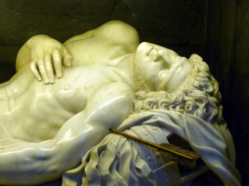 """St. Sebastian"" by Antonio Giorgetti (Creative Commons)"