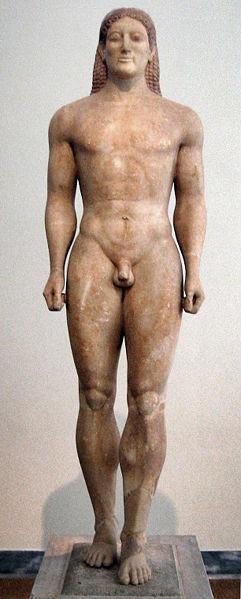 Kroisos Kouros, ca. 530 BC