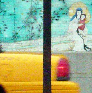 Virgin, Child and Taxi, New York City
