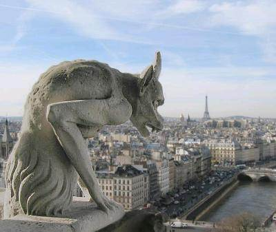 Gargoyle, Notre Dame Cathedral, 14th c.