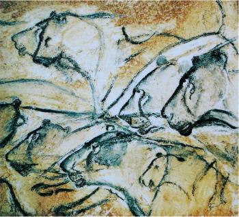 Lionesses, Chauvet Cave, France, ca. 30,000 BC