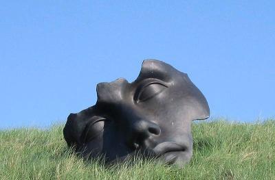 Sculpture on the Beeld boulevard, Scheveningen, the Netherlands