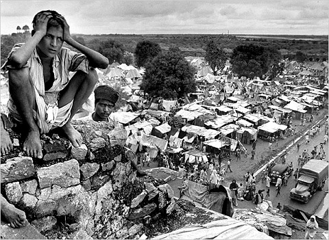 Refugee camp, India-Pakistan partition, 1947